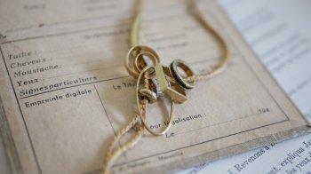 真鍮パイプのループタイ  by Unaca