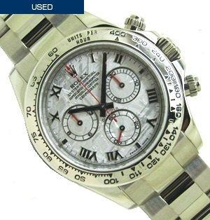 classic fit b5d7d 32e35 【中古】ROLEX(ロレックス) デイトナ メテオライト Ref:116509 G品番 - 六本木 時計専門店PROUD(プラウド)
