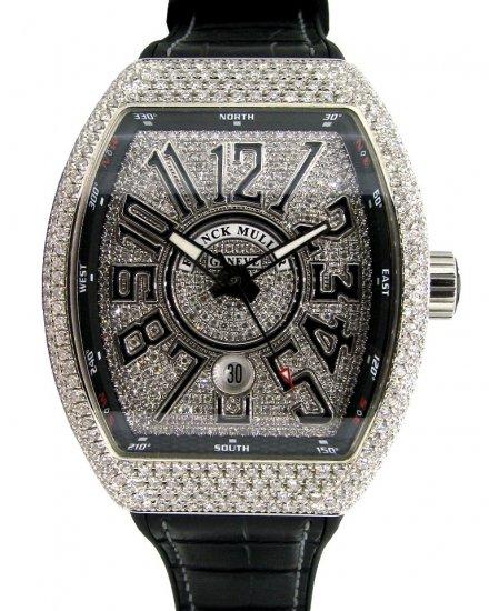 meet 40f84 7a4c3 【新品】FRANCK MULLER(フランクミュラー) ヴァンガード アフターダイヤモンド V45SCDT - 六本木 時計専門店PROUD(プラウド)