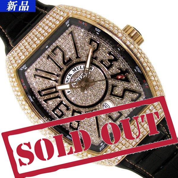 best service 30797 82cc3 【新品】FRANCK MULLER(フランクミュラー)ヴァンガード アフターダイヤモンド V45SCDT - 六本木 時計専門店PROUD(プラウド)