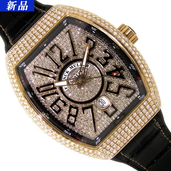 best service f0480 c850d 【新品】FRANCK MULLER(フランクミュラー)ヴァンガード アフターダイヤモンド V45SCDT - 六本木 時計専門店PROUD(プラウド)