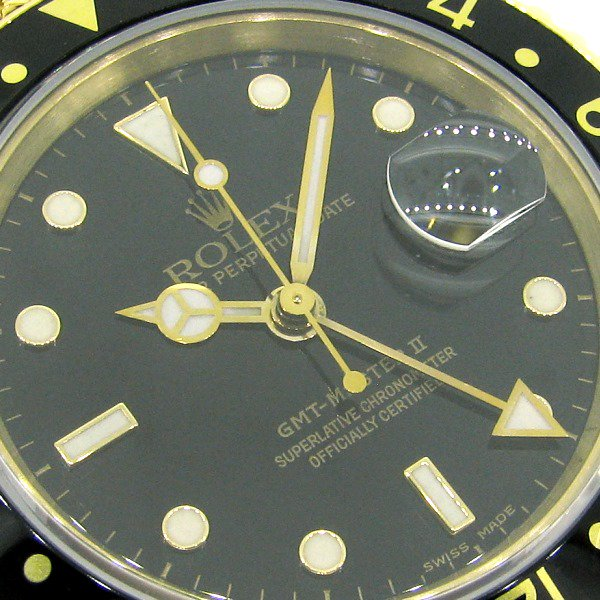 free shipping 2c14e c0010 【中古】ROLEX(ロレックス)GMTマスターⅡ Ref:16718 - 六本木 時計専門店PROUD(プラウド)