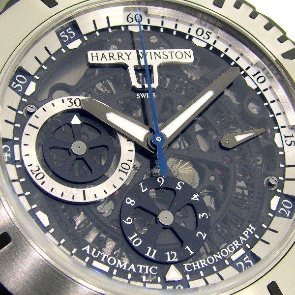 【新品】HARRY WINSTON(ハリーウィンストン)  オーシャン スポーツ クロノグラフ OCSACH44ZZ002