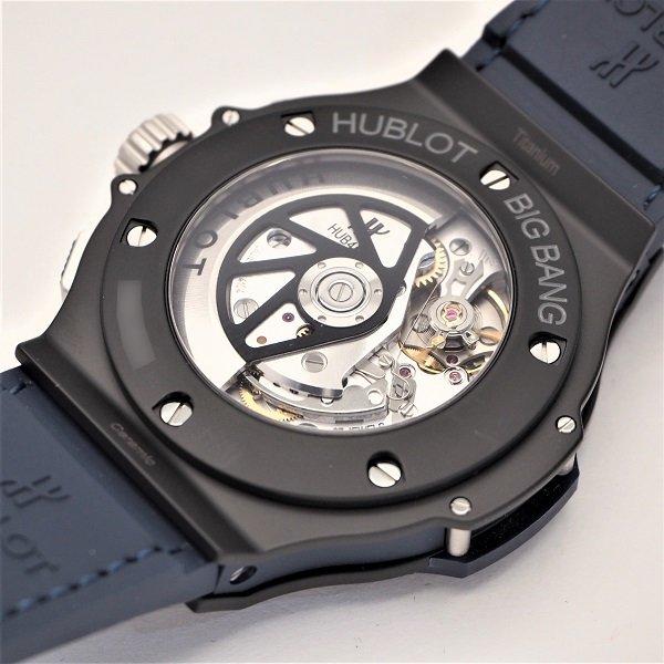 【未使用品】HUBLOT(ウブロ) ビッグバン セラミック ブルー 301.CI.7170.LR