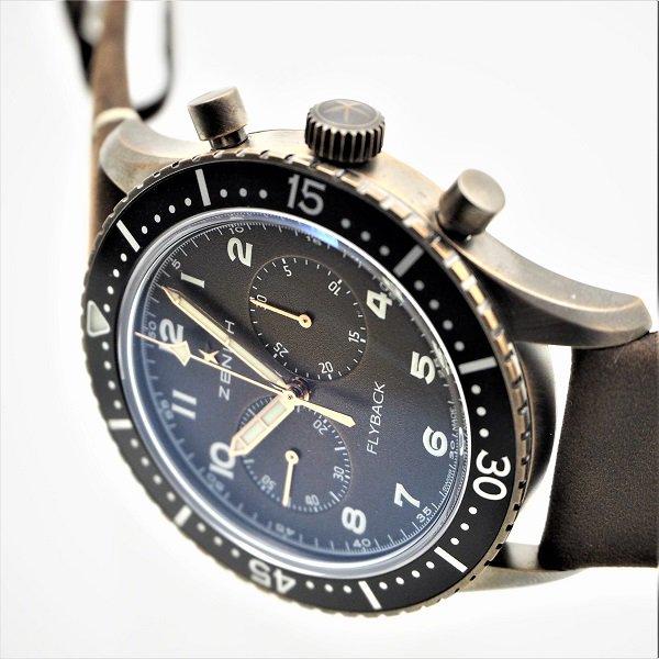【新品】ZENITH(ゼニス) パイロット クロノメトロ TIPO CP-2 フライバック 29.2240.405/18.C801