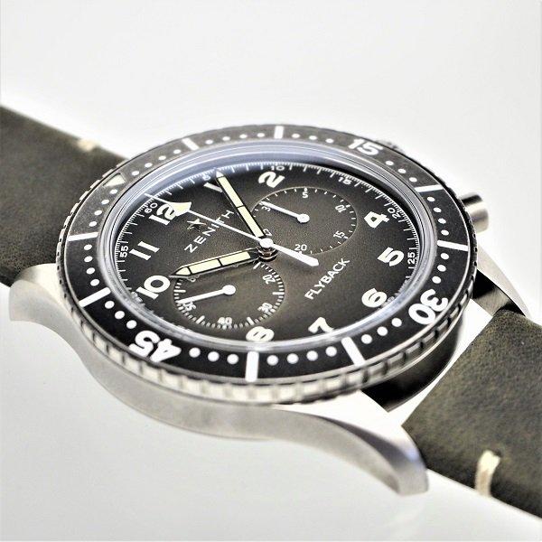 【新品】ZENITH(ゼニス) パイロット クロノメトロ TIPO CP-2 フライバック 11.2240.405/21.C773