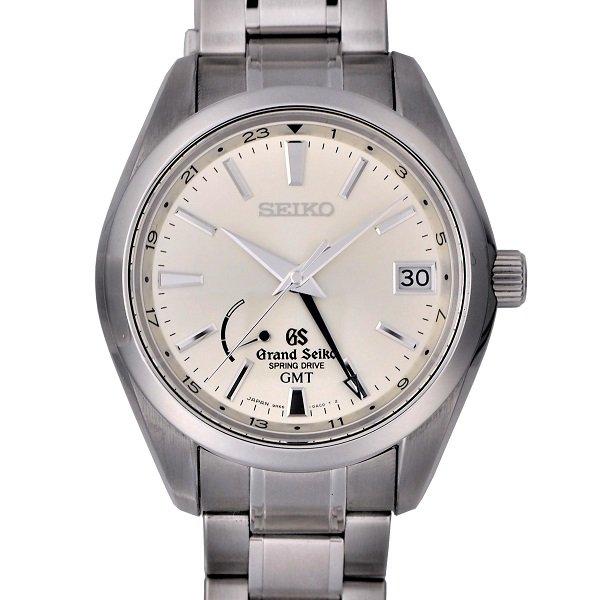 【中古】SEIKO (セイコー) グランドセイコー GMT スプリングドライブ マスターショップ限定 SBGE005