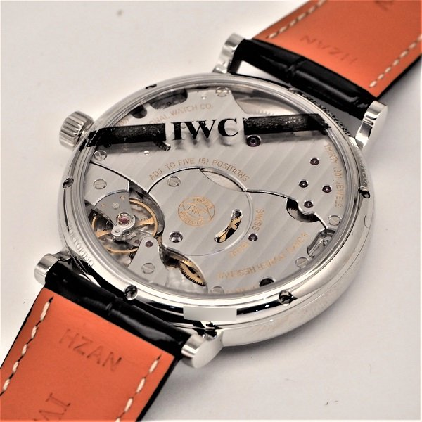【新品】IWC ポートフィノ ハンドワインド 8デイズ IW510106