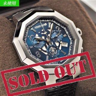 【未使用】Roberto Cavalli by FRANCK MULLER(ロベルト カヴァリ バイ フランクミュラー) メンズ腕時計 クォーツ RV1G003L0011