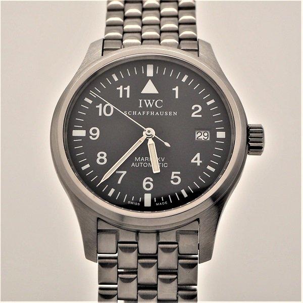 【OH済】【中古美品】IWC パイロットウォッチ マークXV 中期ブレス IW325307