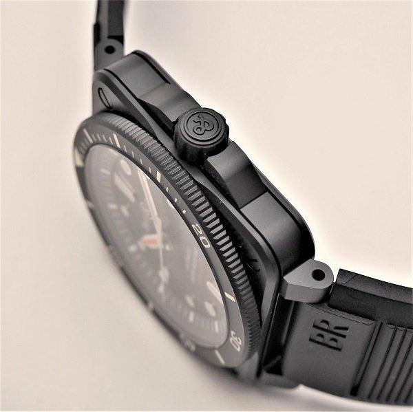 【新品】Bell & Ross(ベル&ロス) BR 03-92 ダイバー ブラック マット BR0392-D-BL-CE/SRB