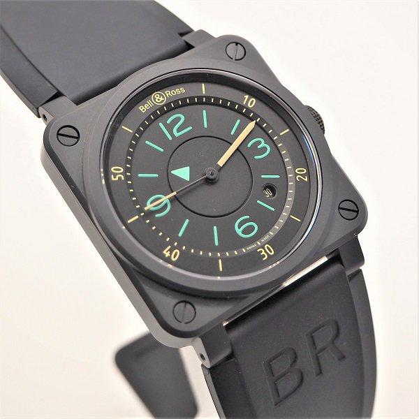 【新品】Bell&Ross(ベル&ロス) BR 03-92 バイ コンパス BR0392-IDC-CE/SRB