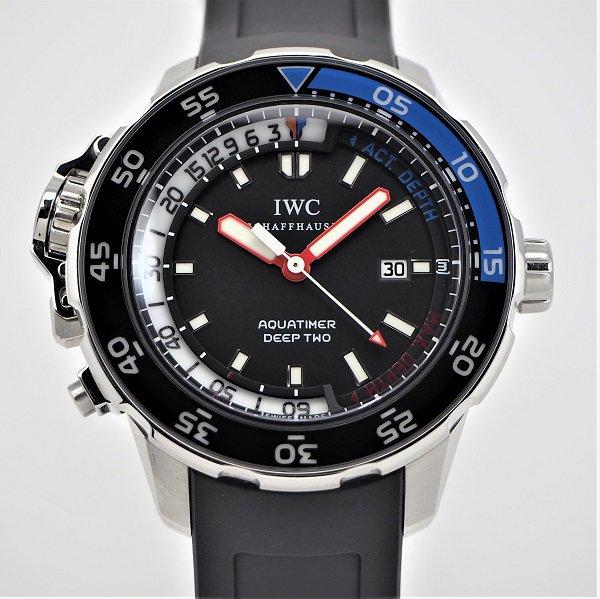 【中古】IWC アクアタイマー ディープII IW354702