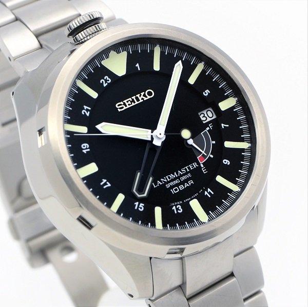 【中古】SEIKO(セイコー) プロスペックス ランドマスター スプリングドライブ SBDB015