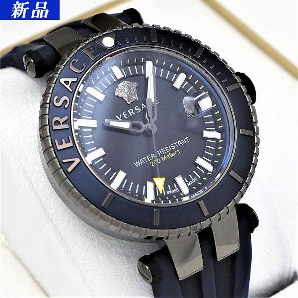 【新品】VERSACE(ヴェルサーチェ) V-レース ダイバー VAK020016