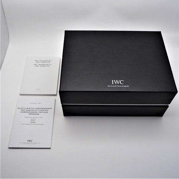 【中古】IWC パイロットウォッチ クロノグラフ トップガン IW388007