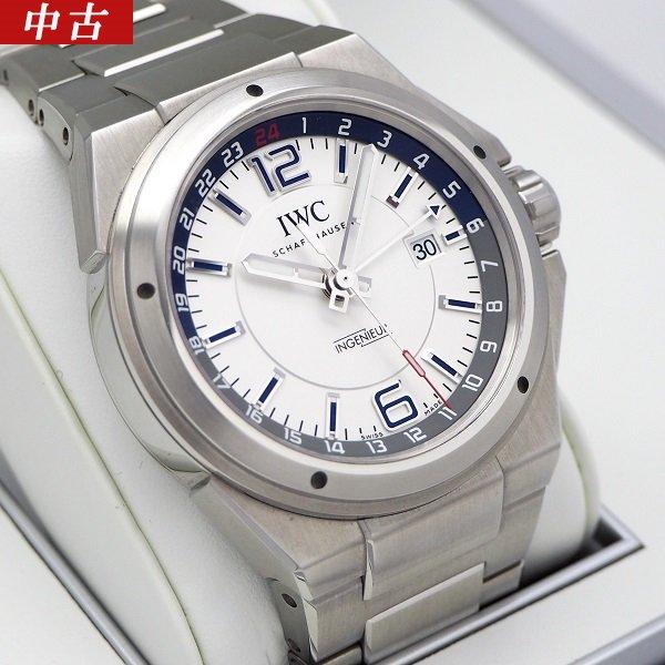 【中古】IWC インヂュニア デュアルタイム IW324404