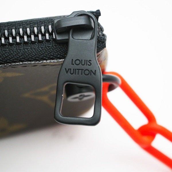 【中古美品】LOUIS VUITTON(ルイ ヴィトン) コインケース モノグラム ソーラーレイ ポシェット・クレ M44487