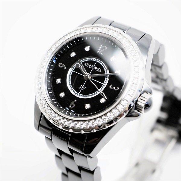 【新品】CHANEL(シャネル) J12 ダイヤモンド クォーツ 33mm H3108 【WEB限定商品】