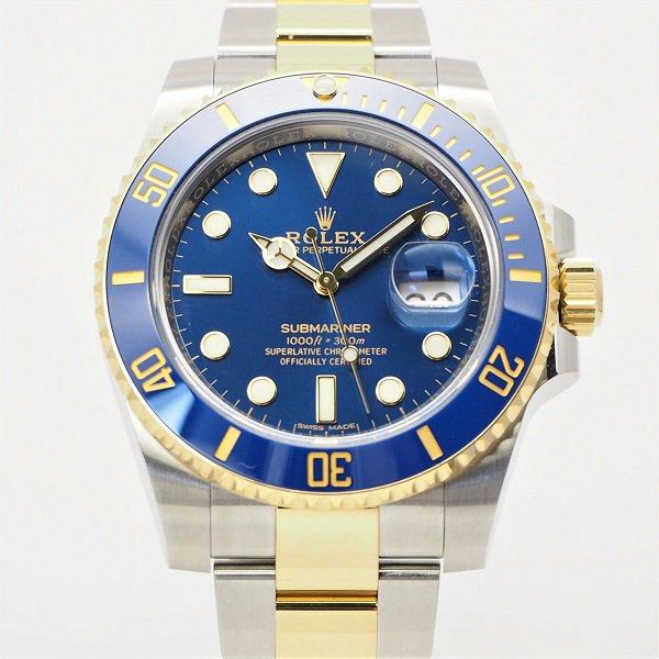 【未使用】ROLEX(ロレックス) サブマリーナ デイト ブルー コンビ Ref:116613LB ランダム品番