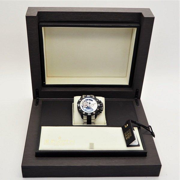 【中古】ZENITH(ゼニス)デファイ エクストリーム オープン クロノグラフ 96.0525.4021/21