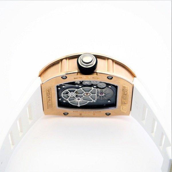 【メーカーOH、仕上げ済】【中古】 RICHARD MILLE(リシャール・ミル) トゥールビヨン  RM002-V2 ピンクゴールド