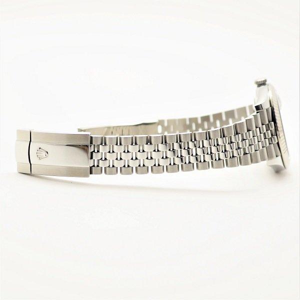 【中古】 ROLEX(ロレックス) デイトジャスト 41 ブラック 10Pダイヤ ランダム品番 126334G