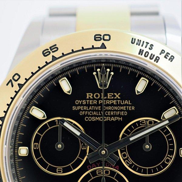 【中古】 ROLEX(ロレックス) コスモグラフ デイトナ ブラック ランダム品番 116503