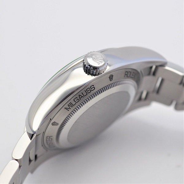 【中古】 ROLEX(ロレックス) ミルガウス ブラック G品番 116400GV