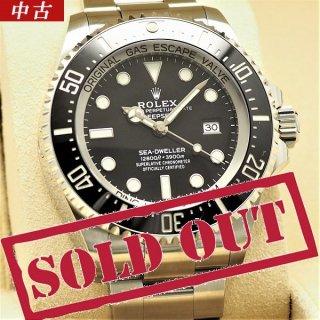 【中古】【国際保証書2021年1月日付】ROLEX(ロレックス) シードゥエラー ディープシー ブラック ランダム品番 126660