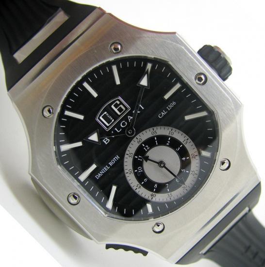 purchase cheap 5c3ec c8e33 【新品】BVLGARI(ブルガリ) ダニエルロート クロノスプリント BRE56BSSDCHS - 六本木 時計専門店PROUD(プラウド)