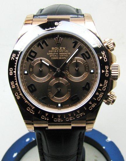 quality design c8374 af672 【新品】ROLEX(ロレックス) デイトナ PG チョコレートブラウンダイヤル Ref:116515LN - 六本木 時計専門店PROUD(プラウド)