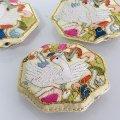 ノリゲ用手刺繍の飾り(鶴)