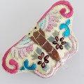 ノリゲ用手刺繍の飾り(蝶々)