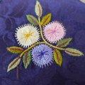 お花の小ハサミ入れ(韓国刺繍)