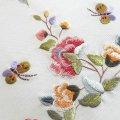 手刺繍のパーツ5(牡丹・蝶々)