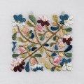 手刺繍のパーツ1(小鳥と草花)