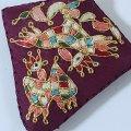 ノリゲ用手刺繍の飾り(鳳凰)