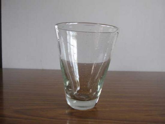 ガラス工房晴天の気泡グラス