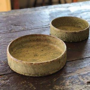 ひび粉引平鉢