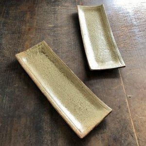 ヒビ粉引 板皿30�