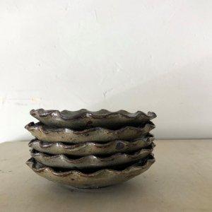 輪花4寸皿