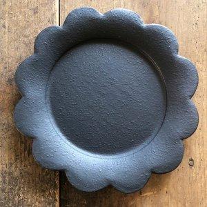 フラワープレート黒