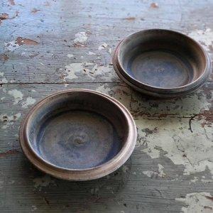 渋青リムグラタン皿