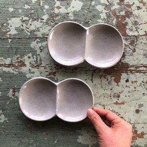 双子小皿�侘白seto