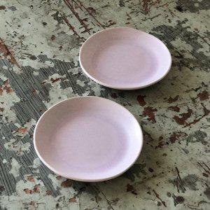 桜釉丸小皿
