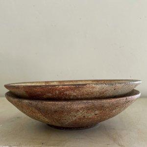ヒビ粉引7寸鉢