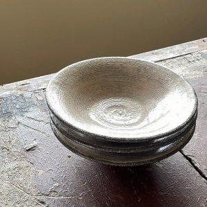 粉引6寸浅皿