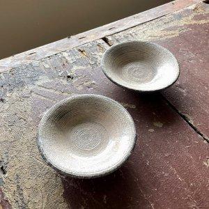 粉引4寸浅皿