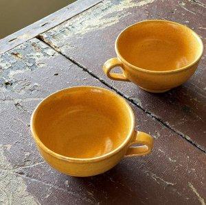 淡黄スープカップ